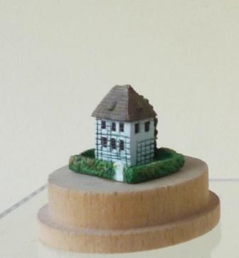 Goethe`s-Gartenhaus-Miniatur