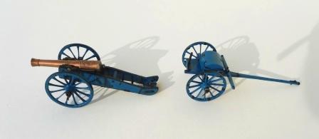 12 Pfund Geschütz mit Protze M 1809/ Feldartllerie / Preußen