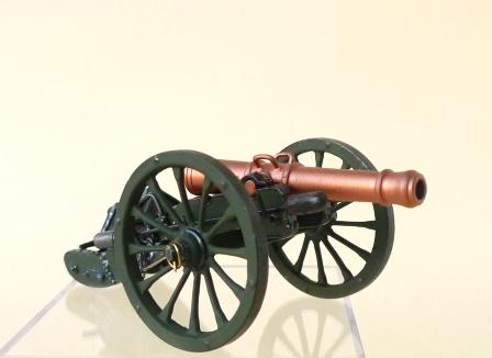 12 Pfund Geschütz / System Gribeauval / Frankreich 1805 - 1815 / M 1776
