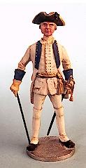 Infanterie Offizier, Österreich 1756 - 1763