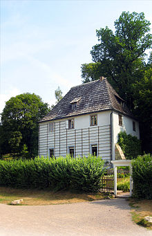 Goethe`s Gartenhaus zu Weimar