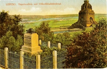 Ansichtkarte, Leipzig um 1913