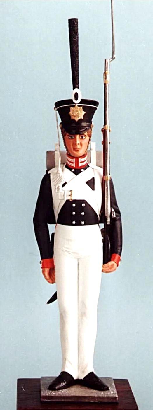 Grenadier, 2. Garderegiment zu Fuß, um 1829