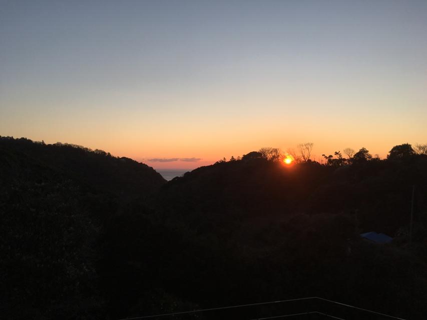伊豆の夜明け☀︎