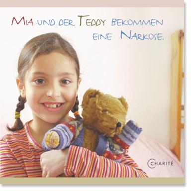"""Titel """"Mia und der Teddy bekommen eine Narkose"""""""