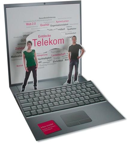 Telekom Laptop-Popup
