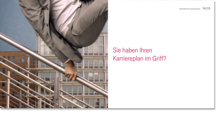 Telekom Recruiting Kampagne- Karriereplan im Griff?