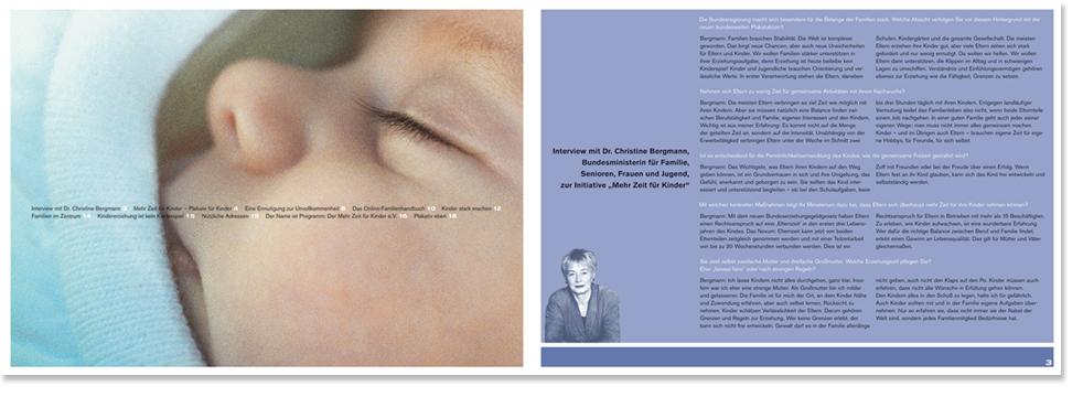 erste Innenseite der Broschüre