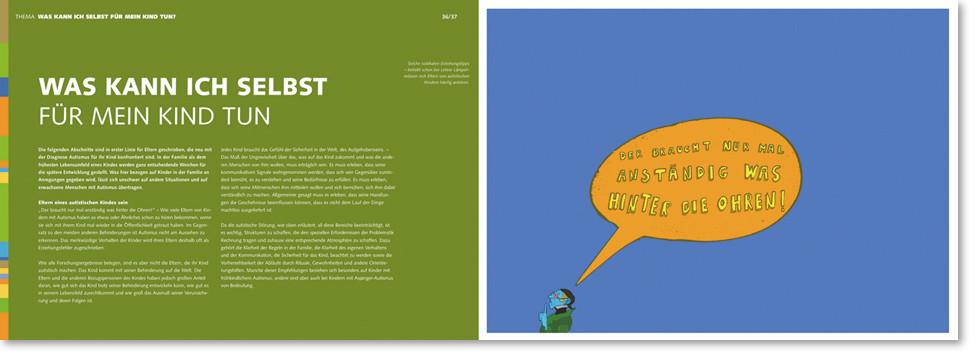 Broschüre Doppelseite mit Lehrer Hempel