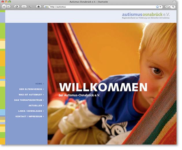 """Startseite """"Willkommen"""""""