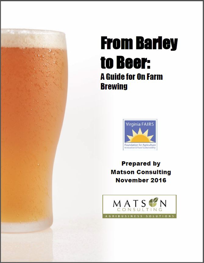 From Barley to Beer: A Guide for On Farm Brewing