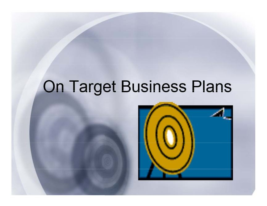 On Target Business Plans