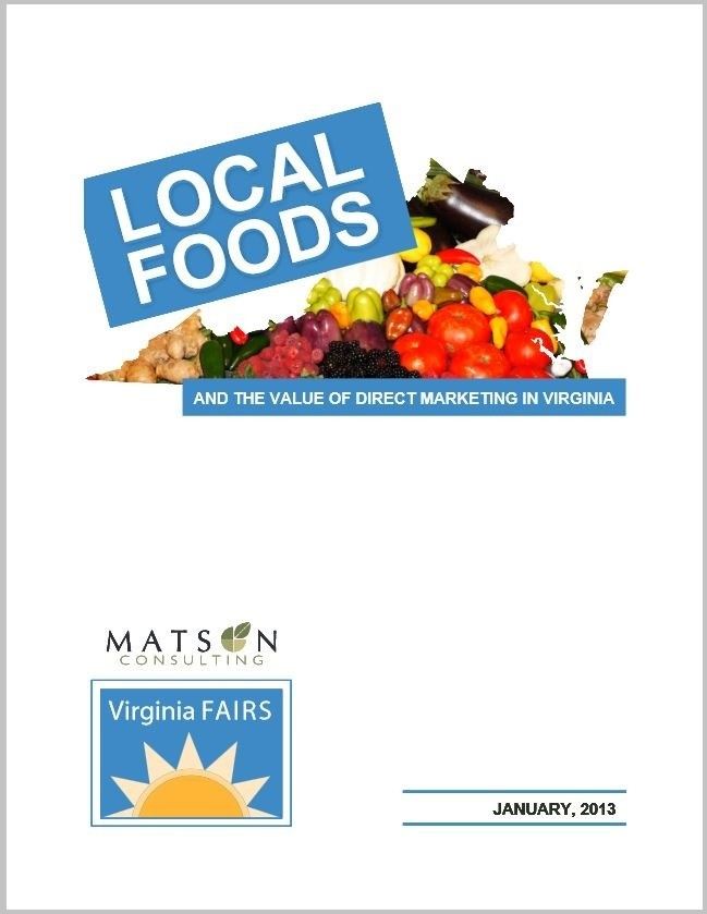 Local Foods and the Value of Direct Marketing in Virginia