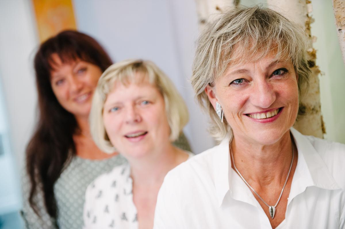 Frauenärztin Dr. Eva Nast und ihr Team