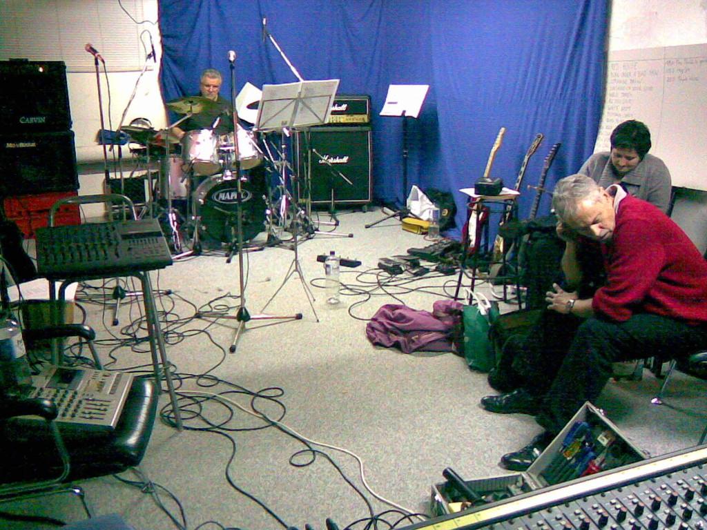 rehearsal room...