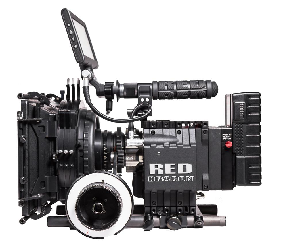 RED Dragon mit PL & EF Mount