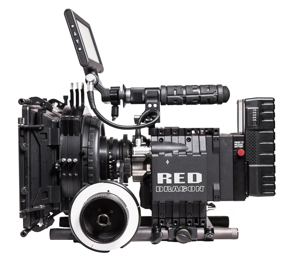 RED Dragon mit PL & EF Mount