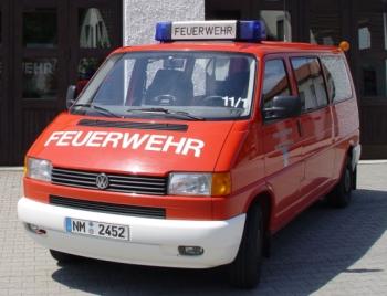MZF VW Bus Bulli Feuerwehr