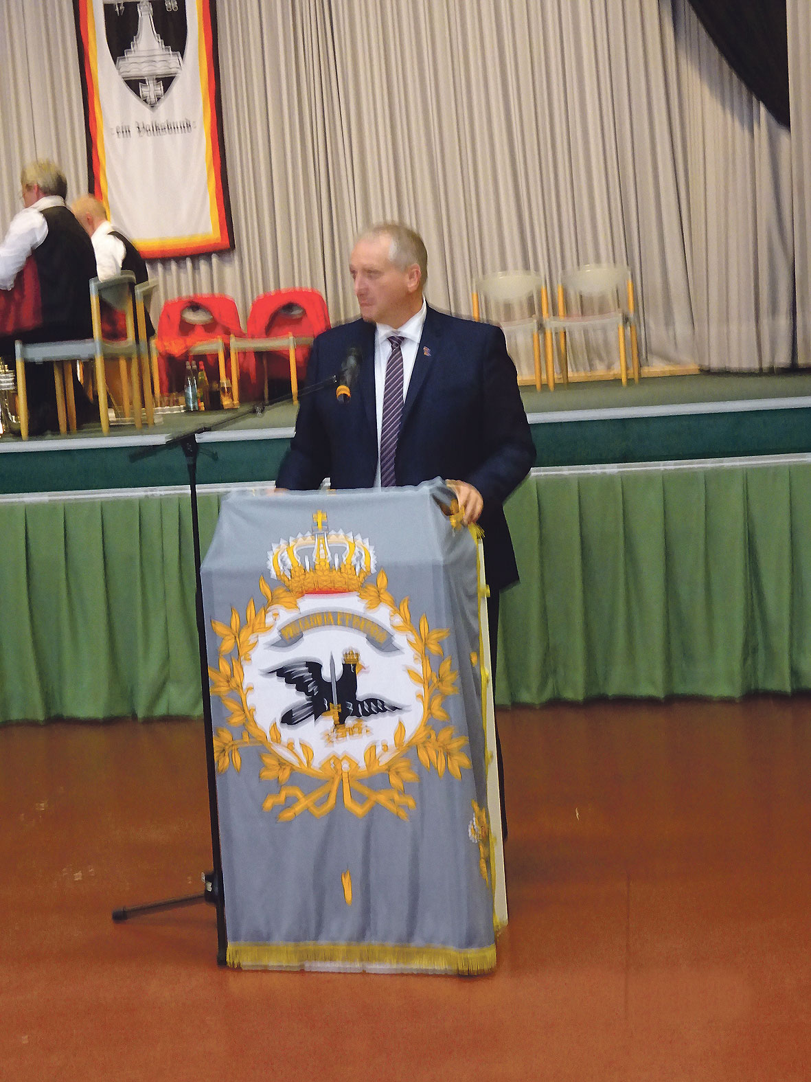 Festredner Vize Landtagspräsident Niedersachsen Frank Oesterhelweg.