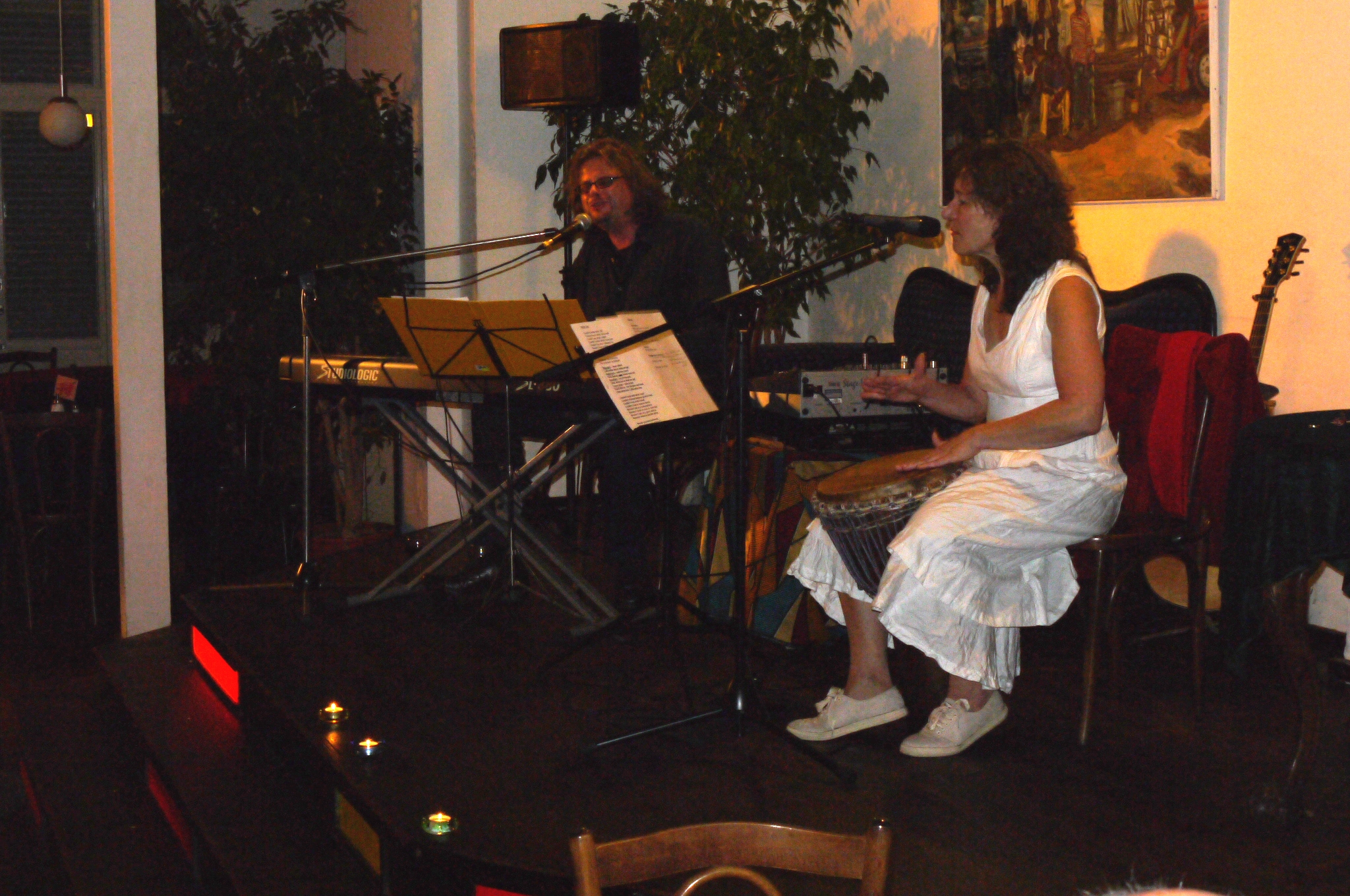 Nov. 2011 Duo Herzton (mit Karel Kaiser) im Balazzo Brozzi, Nürnberg