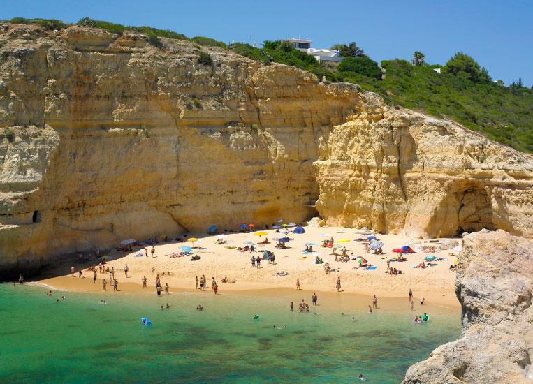 praia-do-carvalho-lagoa-algarve-beach-plage