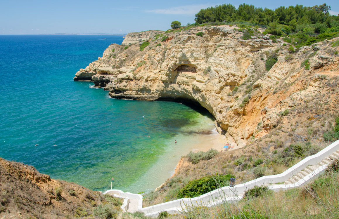 praia-do-paraiso-carvoeiro-algarve-beach-plage