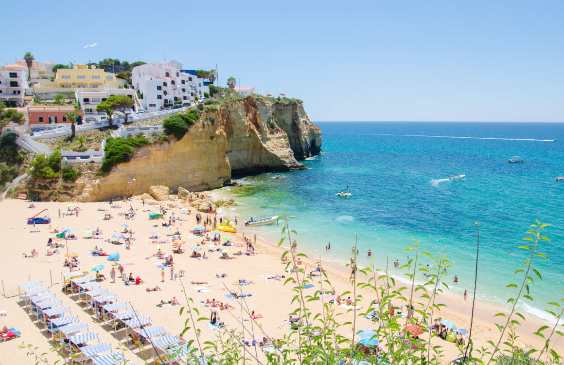 praia-carvoeiro-algarve-portugal-plage-beach