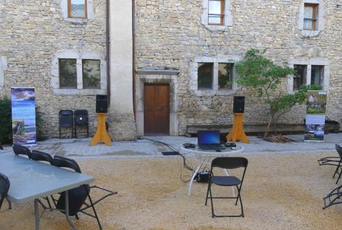 Immersion sonore - Abbaye de Sainte Croix