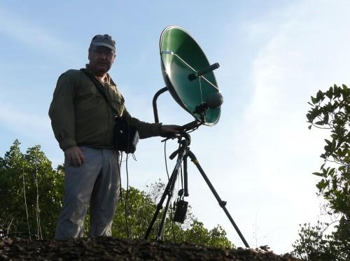 La grande parabole 75cm en Guyane