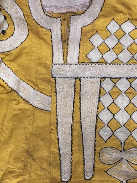 アフリカ ヨルバ族の衣装