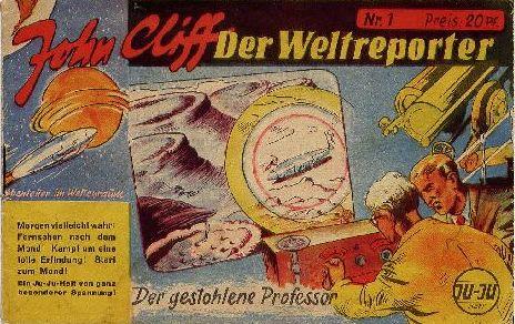 John Cliff, Der Weltreporter 1