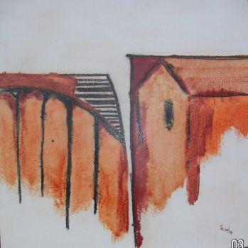 nach Strittmatter, Malplatte 50 x 50, 280 €