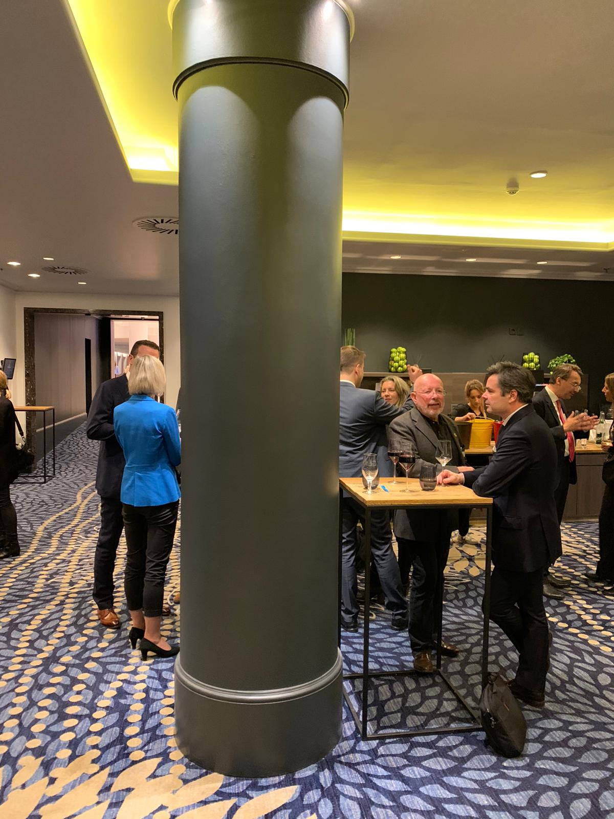 Dr. Dieter Körner beim EU Abendempfang in Brüssel