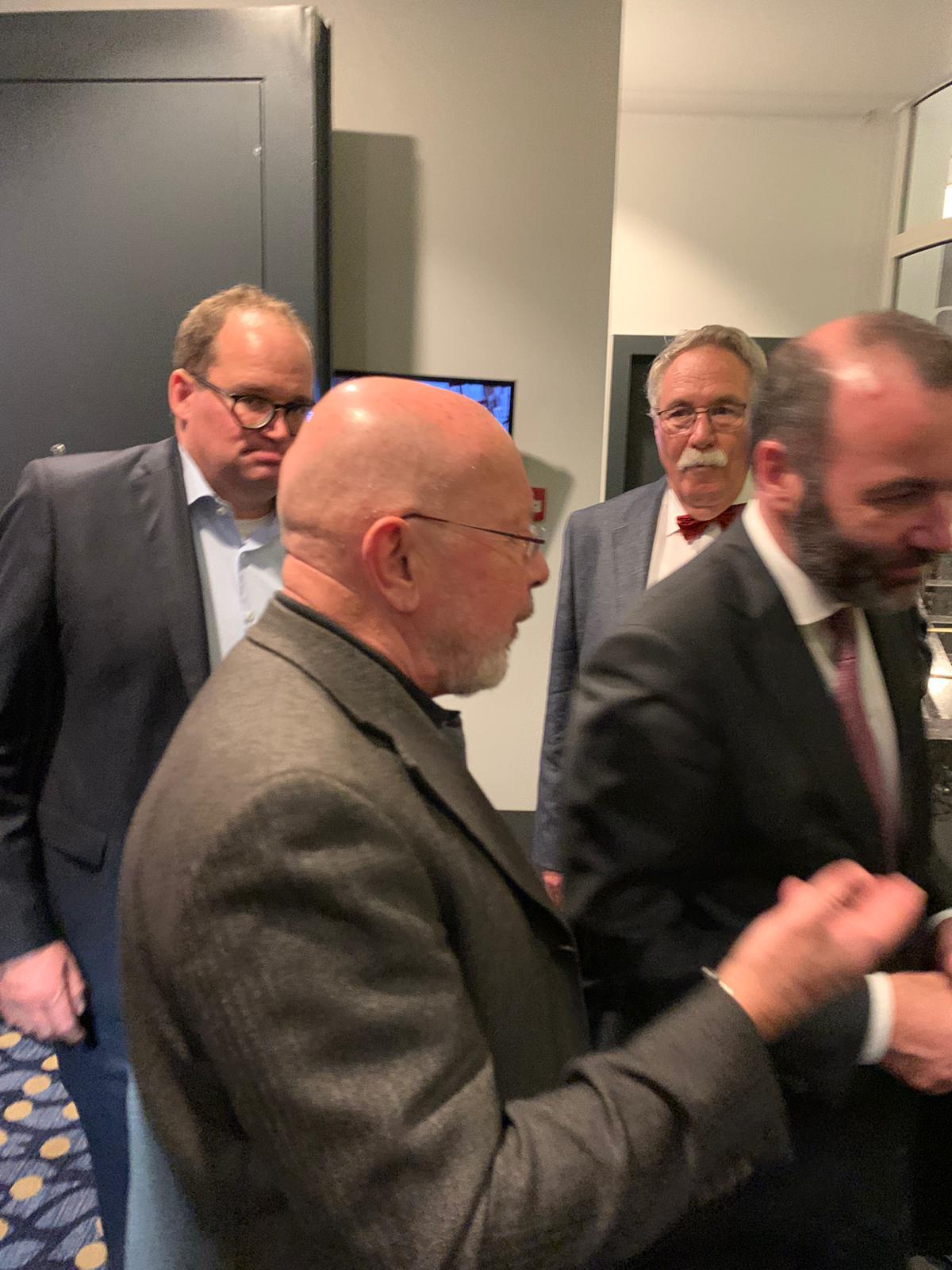 Dr. Dieter Körner im Gespräch mit Manfred Weber