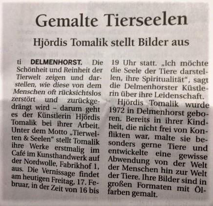 Delmenhorster Kreisblatt vom 17.2.2017