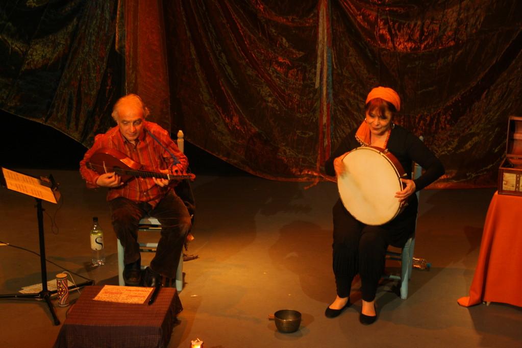 LES 7 LANGUES DU DRAGON , Teatrale di Bastia, CETERA : Mathieu Luz