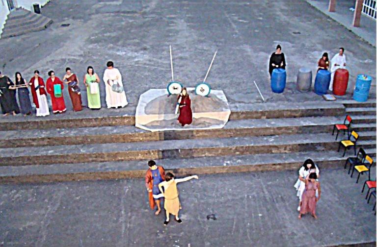 L'ILE DES ESCLAVES, d'après MARIVAUX, ATELIER-THEATRE du Lycée L.Bonaparte, Ajaccio