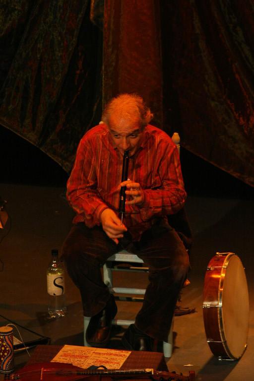 LES 7 LANGUES DU DRAGON , Teatrale di Bastia, FLUTE : Mathieu Luzi.