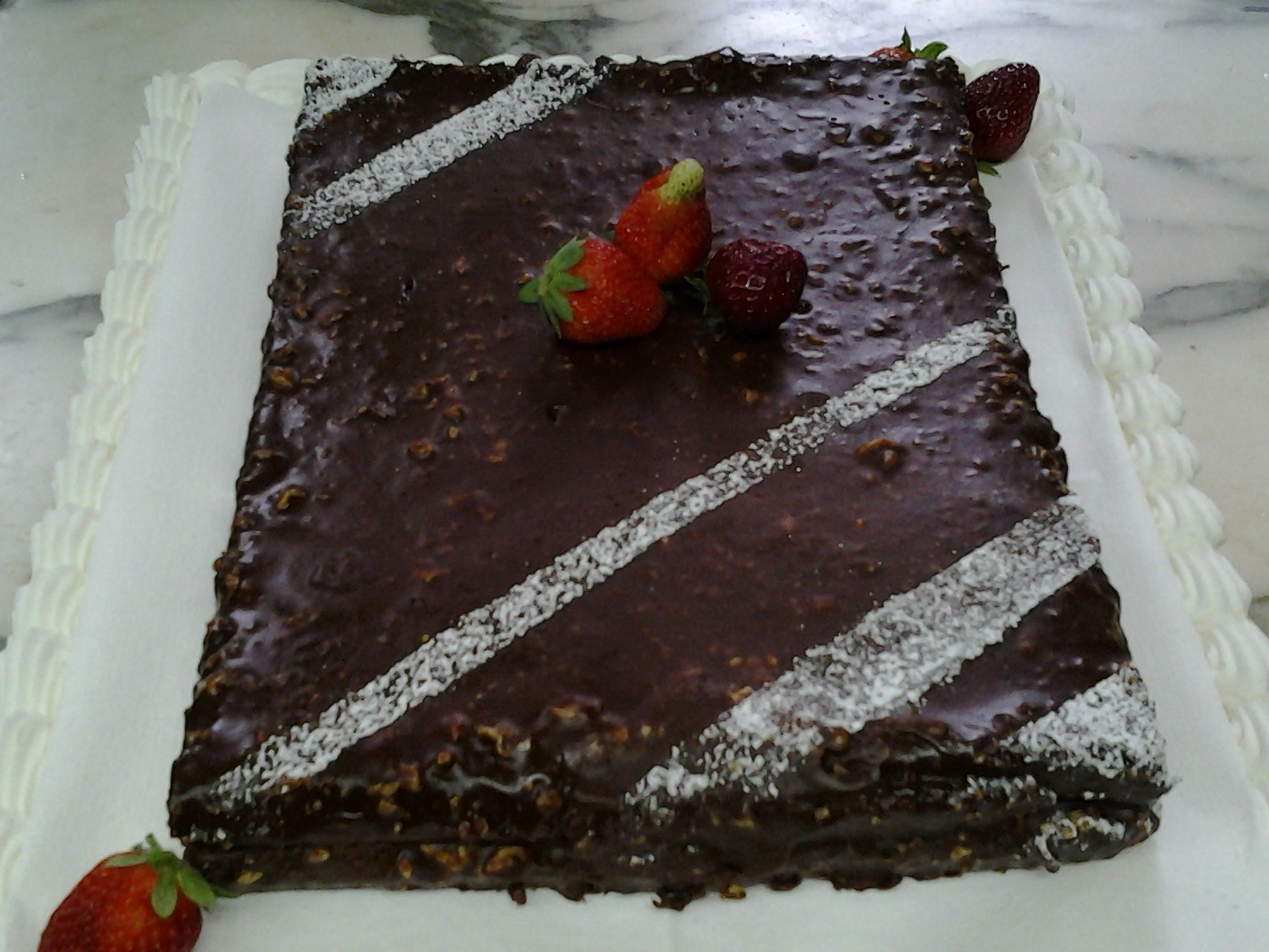 Tendresse chocolat noisette caramel au beurre salé