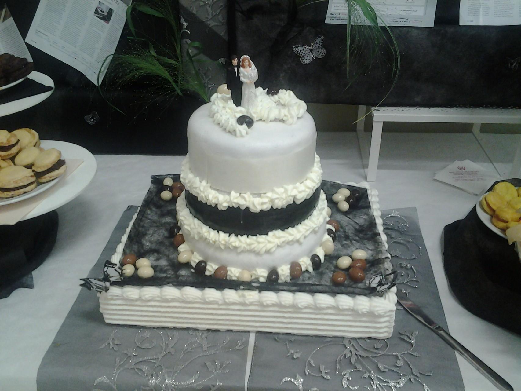 Weeding cake au chocolat