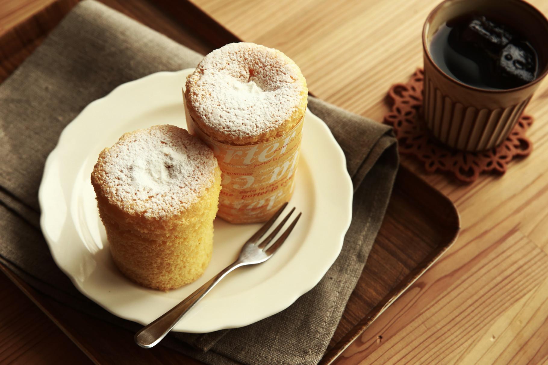 米粉シフォンケーキ えんとつ