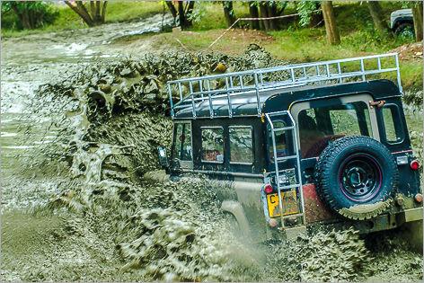 Land Rover Treffen England