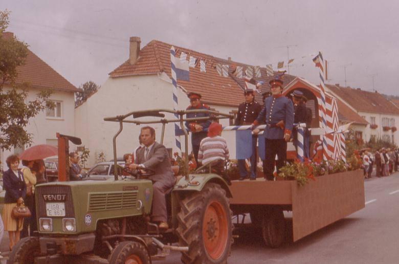 Festzug zur 800-Jahr-Feier am 31. August 1980