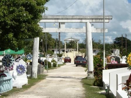 サイパン島 日本統治時代の神社 ...