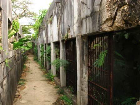 日本刑務所跡