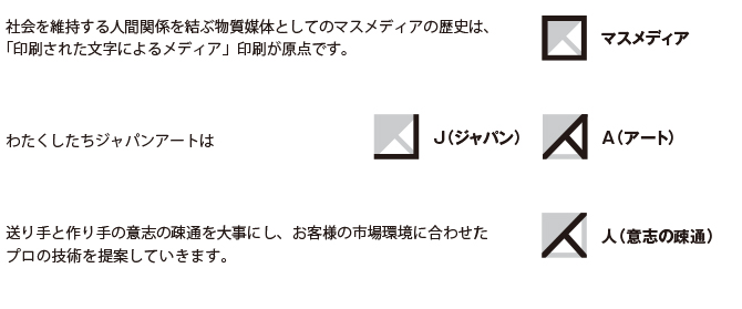 ジャパンアートロゴ コンセプト