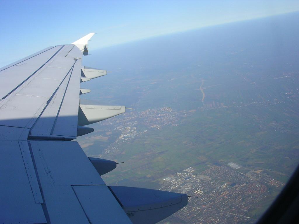 Mit dem Flieger nach München