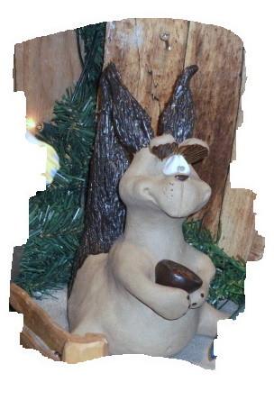 Das Eichhörnchen kommt wie schon gesagt in den nächsten Tagen zu uns.