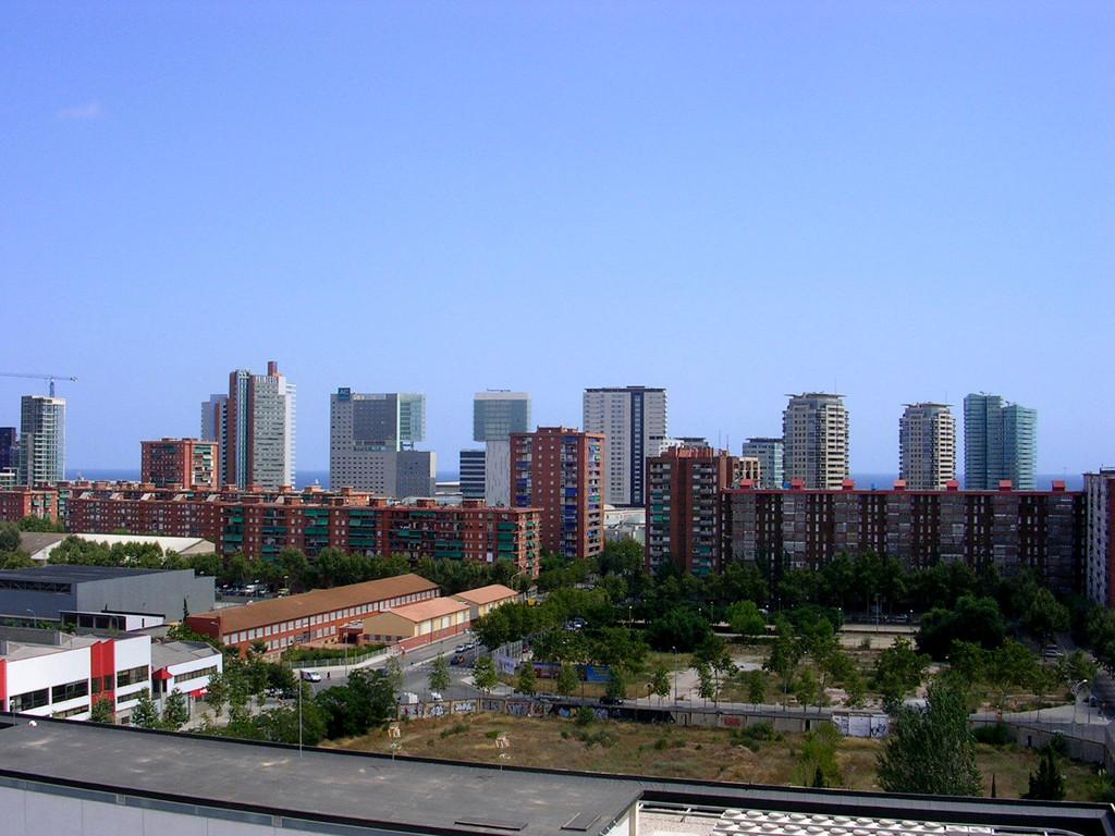 Der Ausblick vom Dach des Vincci condal mar.