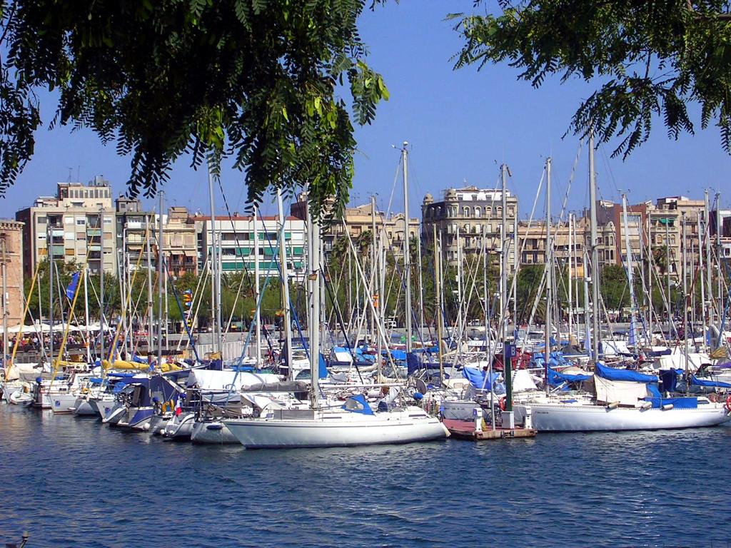 Ein Blick in den Hafen,